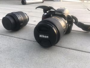 NIKON D3100 CAMERA & NIKON AF-S NIKKOR 18-300mm LENS for Sale in San Francisco, CA