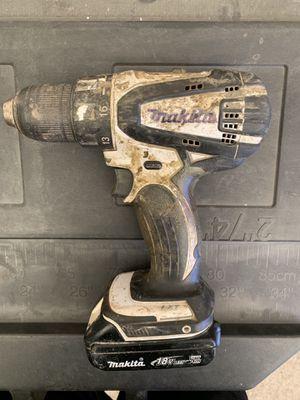18v makita drill 60$ for Sale in Chico, CA
