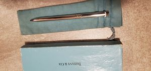 Tiffany and co. Pen pure silver with box and bag for Sale in Fullerton, CA