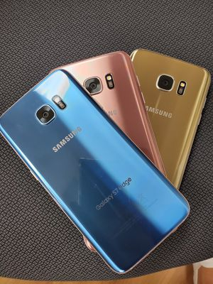 Samsung S7 edge unlocked like new condition with 30 days warranty for Sale in Tampa, FL