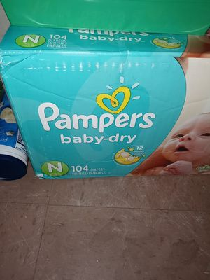 Pampers brand for Sale in St. Petersburg, FL