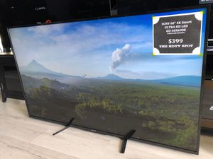 60 INCH 4K ULTRA HD LED SMART ANDROID TV SONY 690E for Sale in Los Angeles, CA
