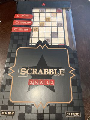 NEW Wooden Scrabble Grand Edition for Sale in San Diego, CA