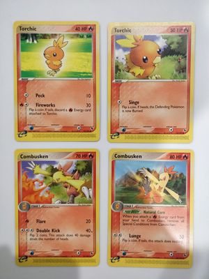 Torchic & Combusken Mint Pokemon EX - R&S for Sale in Forest Heights, MD