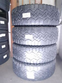 275 60 20 SET OF 4 GOODYEAR DURATRAC ALL TERRAIN 275/60R20 for Sale in Fort Lauderdale,  FL