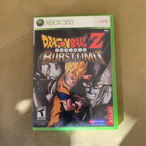 XBOX 360 Dragonball Z Burstlimit COMPLETE AND TESTED!!! for Sale in Fort Lauderdale, FL
