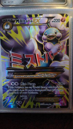 Mint pokemon card 2016 for Sale in Pittsburgh, PA