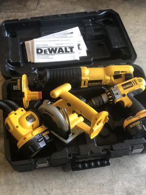 DeWalt cordless power tool set for Sale in Bellevue, WA