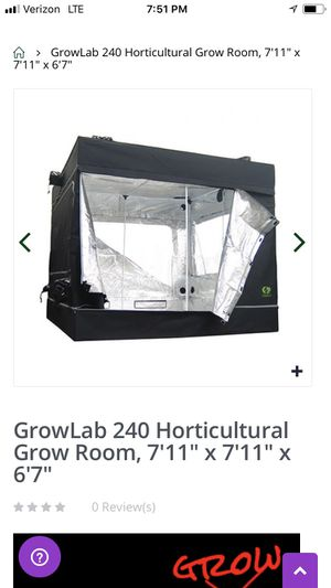 Gro lab 8x8x7 tent 9708322 for Sale in Fresno, CA
