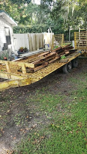 Heavy duty trailer as is. 8x16 for Sale in Lakeland, FL