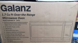 Galanz 1.7 over the range microwave oven white new for Sale in Fullerton, CA
