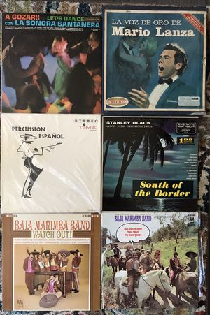 Lot of 6 Mexican Mariachi Vinyl Records Albums for Sale in Phillips Ranch, CA