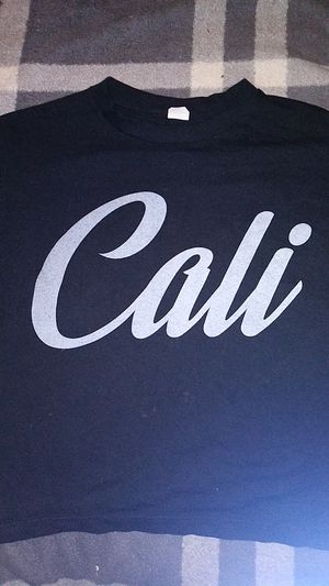 Cali black shirt for teens for Sale in Palmdale, CA