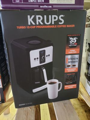 New K-rups turbo 12 cup coffee maker for Sale in Johnston, IA