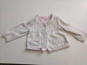 Dylan & Abby 3-6m cardigan for Sale in Portland, OR