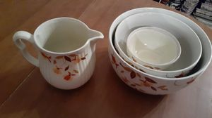 Vintage Halls Bowl set and water pitcher for Sale in Kingsley, PA