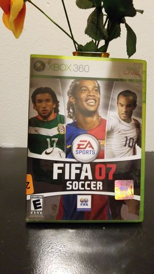 Xbox 360 game FIFA 07 (Soccer) for Sale in Austin, TX