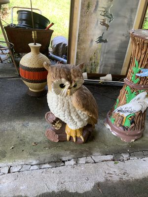 Garden Ceramic Owl for Sale in Atlanta, GA