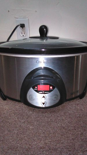 Crock-Pot Stainless Steel Slow Cooker for Sale in Long Beach, CA