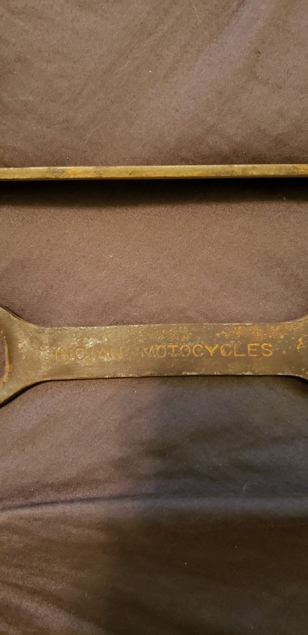 Vintage Indian Motorcycle wrenches