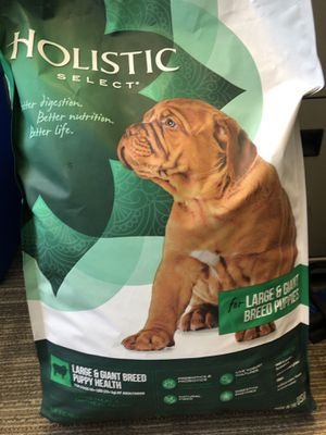 $35 Holistic Select Large Breed Dog Food 30lbs for Sale in Weston, MA