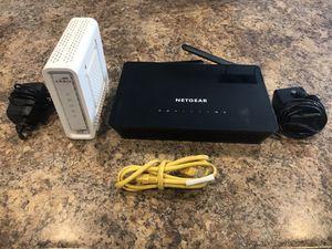 Arris modem Netgear router for Sale in Peoria, AZ