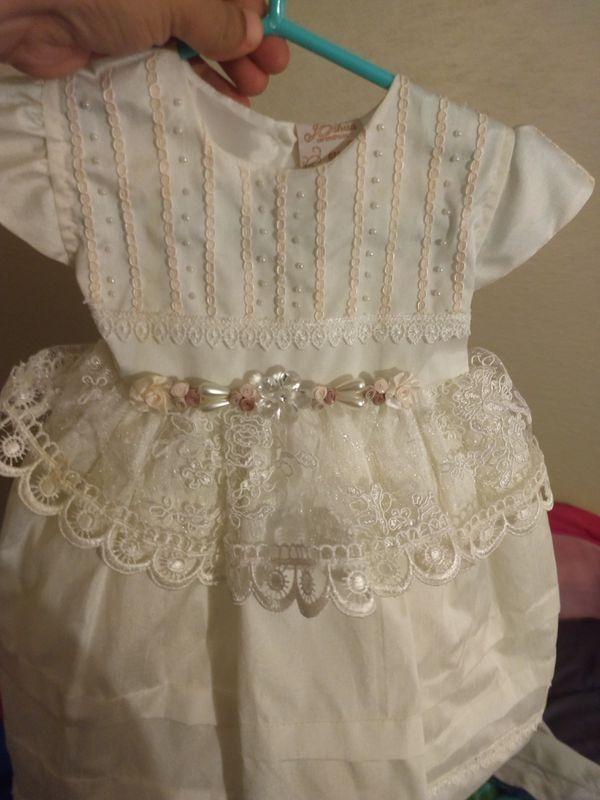 Christening dress vestido para bautizo