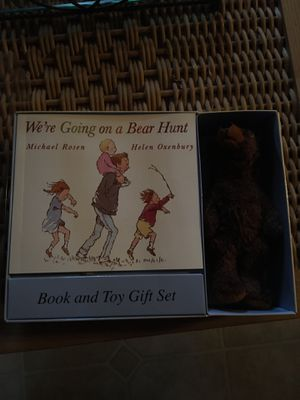 Book and toy gift set - We're Going On A Bear Hunt for Sale in Quincy, MA