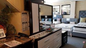 Brand new white dresser with storage mirror for Sale in San Diego, CA