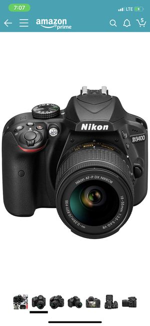 Nikon D3400 in Excellent condition for Sale in Norwalk, CA