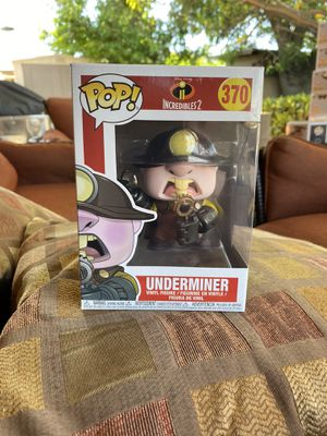 Funko Pop Underminer Incredibles 2 Disney Pixar for Sale in Los Angeles, CA