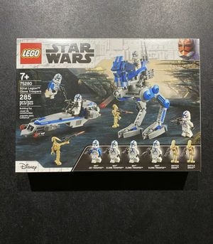 LEGO Star Wars 75280 501st Legion Clone Troopers Battle Pack & Droids NEW Sealed for Sale in Boca Raton, FL