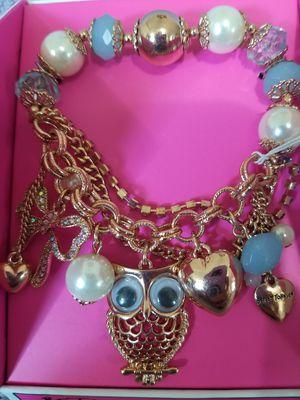 betsey johnson bracelet for Sale in Starks, LA
