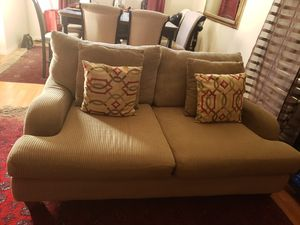 sofa set 3 piece & ottoman for Sale in Spring Valley, CA