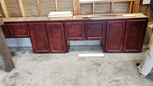 Natural oak half inch ply box kitchen cabinets for Sale in Oregon City, OR