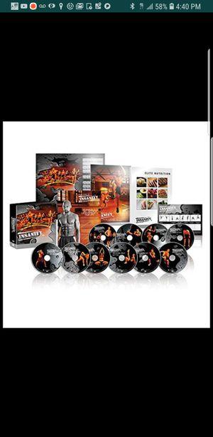 Brand new insanity DVD bundle for Sale in El Paso, TX