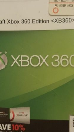 Xbox 360 MINECRAFT game for Sale in Lakebay,  WA