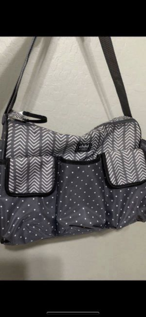 Carters diaper bag child of mine for baby girl or boy $15firm like new Excellent conditions for Sale in Laveen Village, AZ