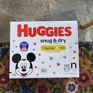 Brand New Huggies Diapers Size Newborn for Sale in City of Industry, CA