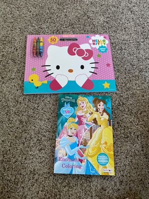 Girls coloring books for Sale in Winton, CA