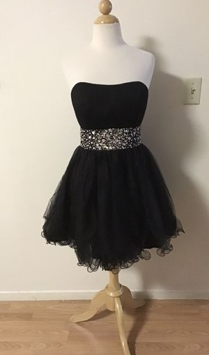 BLACK PARTY DRESS SIZE LARGE for Sale in Los Angeles, CA
