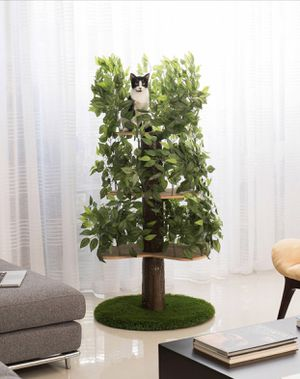 Luxury Cat Tree, Round, Large for Sale in Franklin, TN
