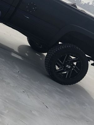 Rims and tires 8 lug for Sale in Jacksonville, FL