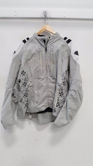 Womens motorcycle armored jacket for Sale in Cumming, GA