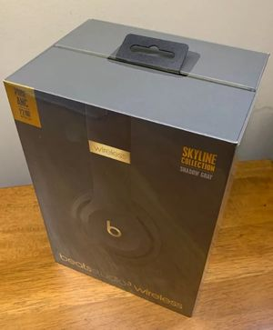 Beats Studio 3 wireless Headphones Shadow Grey Skyline Collection .NEW& SEALED (ORIGINAL& AUTHENTIC , Latest Model 2019 ). for Sale in Los Angeles, CA