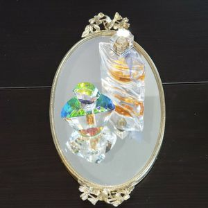 """Ormolu Oval Mirror Vanity Tray. 14"""" Long. Perfume Not Including for Sale in Irvine, CA"""
