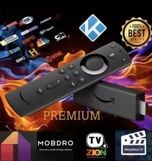 Fire TV Stick 4K fully loaded for Sale in San Francisco, CA