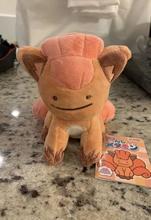 Pokemon vulpix ditto face plushie plush toy for Sale in Silver Spring, MD