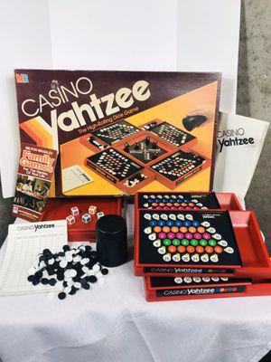 Vintage 1986 Milton Bradley Casino Yahtzee for Sale in Central Falls, RI