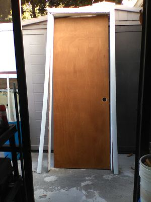 Door with frame and trim for Sale in Clearwater, FL